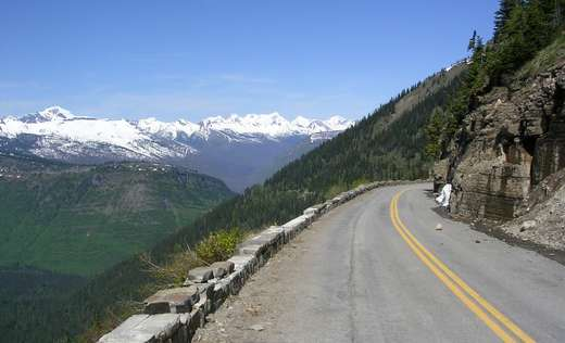 Going to the sun road 107