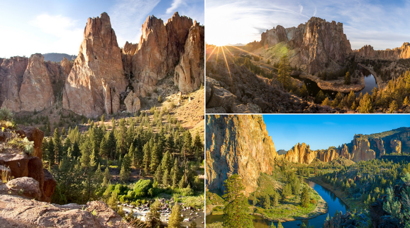 Smith Rock's endless jaw-dropping views are the crown jewel of the High Desert