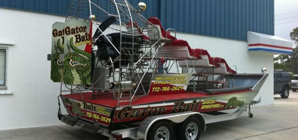 Vero Beach Airboat Tours On Gator Bait Adventures