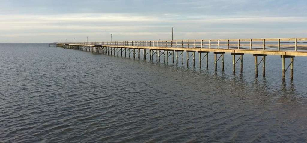 61st street fishing pier galveston roadtrippers for Fishing galveston tx