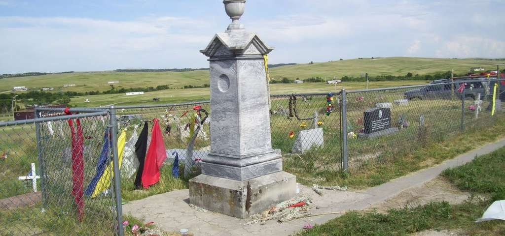 Wounded Knee Massacre Location