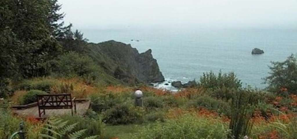 Abalone Cove Dramatic Trinidad Oceanfront Hot Tubsaunabeach