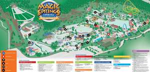 Magic Springs And Crystal Fall Water And Theme Park