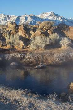Crowley Hot Spring Mammoth Lakes Roadtrippers