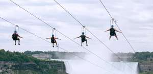 WildPlay's MistRider Zipline to the Falls