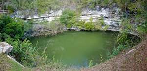 Sacred Cenote of Chichen Itza