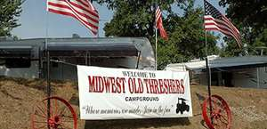 Midwest Old Threshers Campground