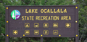 Lake Ogallala State Recreation Area Campground
