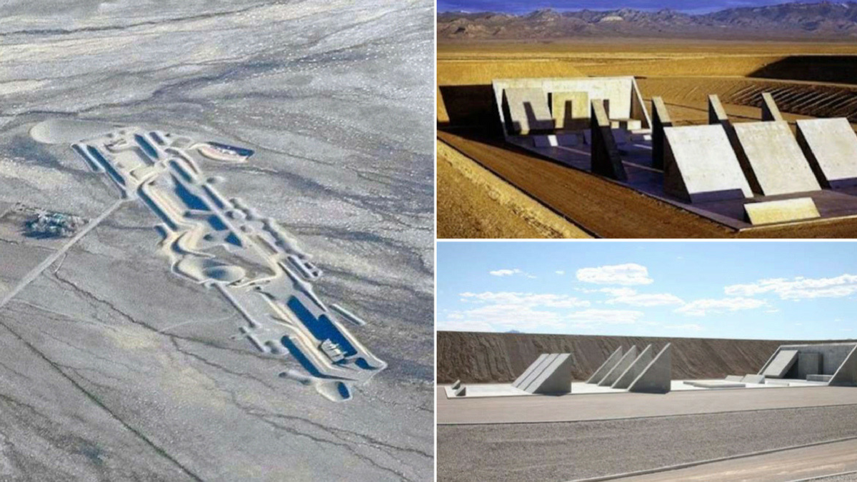 For 40 years, a top secret city has been quietly built near Area 51