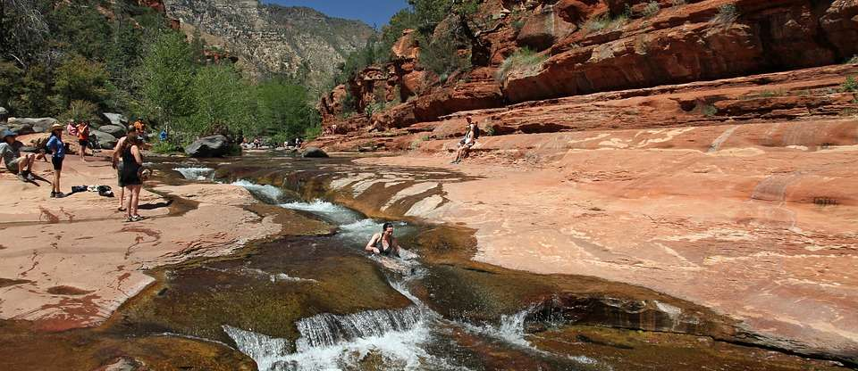 Spend The Day Sliding Down A Water Chute At Slide Rock Roadtrippers