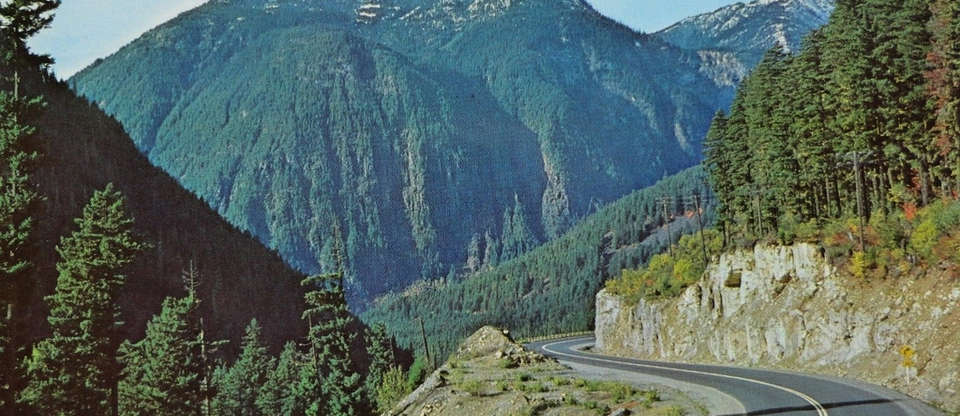 The mountainous Crowsnest Hwy is an adventure of a drive
